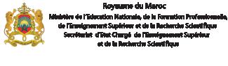 Ministère de l'Education Nationale, de la Formation Professionnelle, de l'Enseignement Supérieur et de la Recherche Scientifique